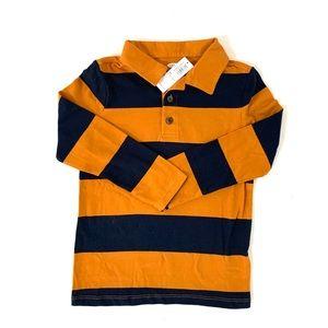 3/$25 Old Navy Toddler Boy Striped Polo